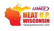 Wesley Heating & Cooling supports Heat Up Wisconson by giving away furnaces to families in need